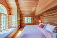 """<strong>Bedrooms:</strong> 3<br> <strong>Bathrooms:</strong> 2<br> <strong>Minimum stay:</strong> 2 nights<br> <br> Cedar wood, nautical stripes, and wicker accents give this welcoming three-bedroom home a beachy feel. The home has plenty of outdoor space (with a fire pit, too) and is one mile from the beach. Nearby you'll find Neacoxie Creek, and should you like to play a tennis match or a pickup game of basketball, you'll find courts right down the street. Dogs are welcome at this VRBO find (for an additional fee of $20 per night). $219, Marriott (Starting Price). <a href=""""https://www.vrbo.com/735060"""" rel=""""nofollow noopener"""" target=""""_blank"""" data-ylk=""""slk:Get it now!"""" class=""""link rapid-noclick-resp"""">Get it now!</a>"""