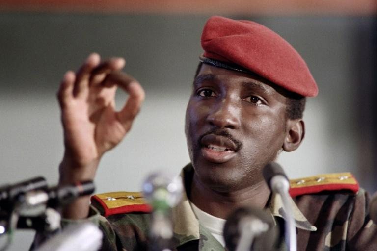 The killing of Sankara, an icon of pan-Africanism, has long cast a shadow over Burkina Faso (AFP/DOMINIQUE FAGET)
