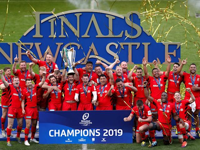 The draw for the 2019.20 European Champions Cup takes place on Wednesday: Reuters