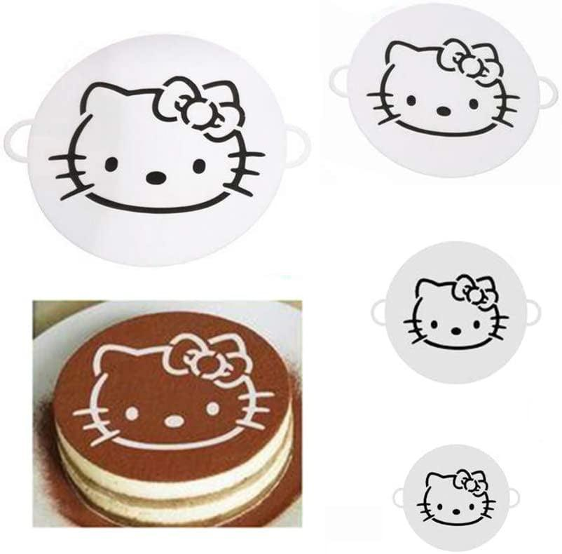 <p>Top your baked goods with the <span>Hello Kitty Cake Decorations Stencils Set of 4</span> ($9).</p>