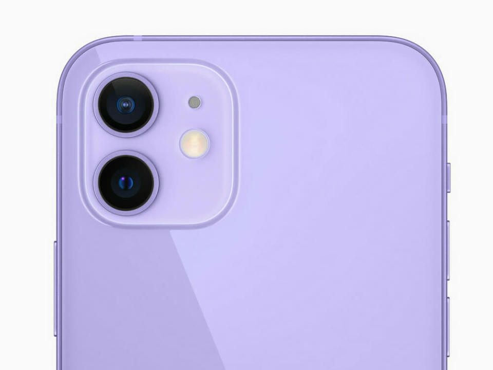 iPhone 12, iPhone 12 mini, Violett (Bild: Apple)