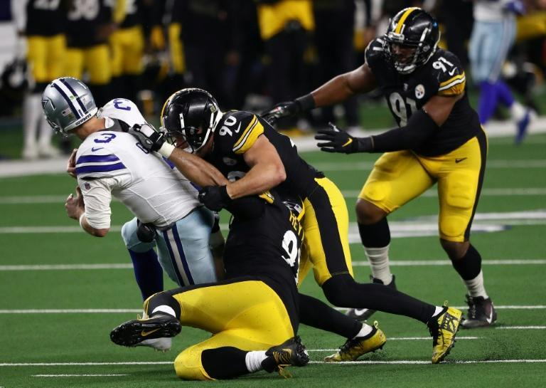 The Pittsburgh Steelers defense leads the NFL in sacks as they head to the Jacksonville Jaguars this weekend looking to extend the team's unbeaten season