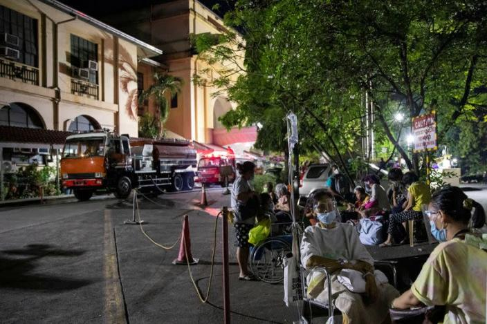 Fire at government-run Philippine General Hospital