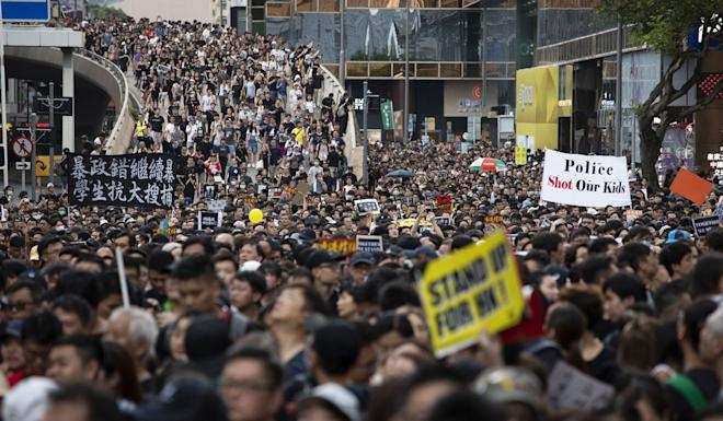 The extradition bill crisis, and the divisions it has exposed in society, have been linked with the sharp increase in the number of people likely to have depression, according to a senior professor. Photo: Bloomberg