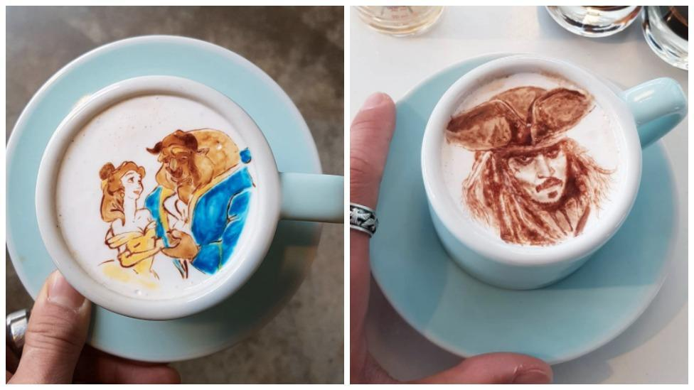 These coffee foam works of art are incredible