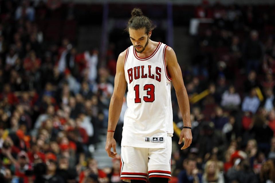 Joakim Noah may be preparing to say goodbye to Chicago. (AP/Andrew A. Nelles)