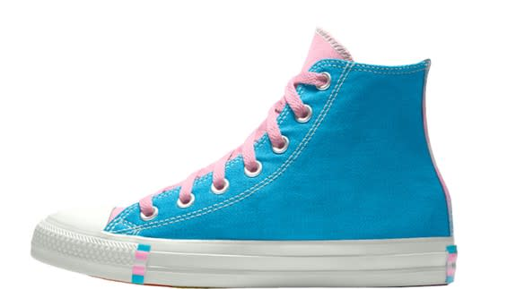 82ff88ff1d8c Converse introduces trans-themed shoes for Pride and Twitter is happy for  once