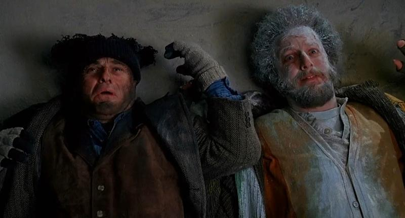 No harm done...? Joe Pesci and Daniel Stern in 'Home Alone 2' (credit: 20th Century Fox)