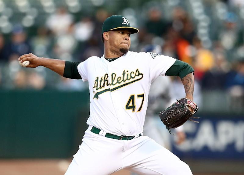 Athletics pitcher Montas banned 80 games for doping