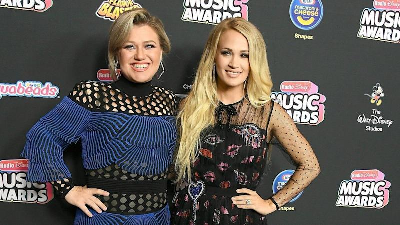Kelly Clarkson Shuts Down Feud Rumors With Carrie Underwood (Exclusive)