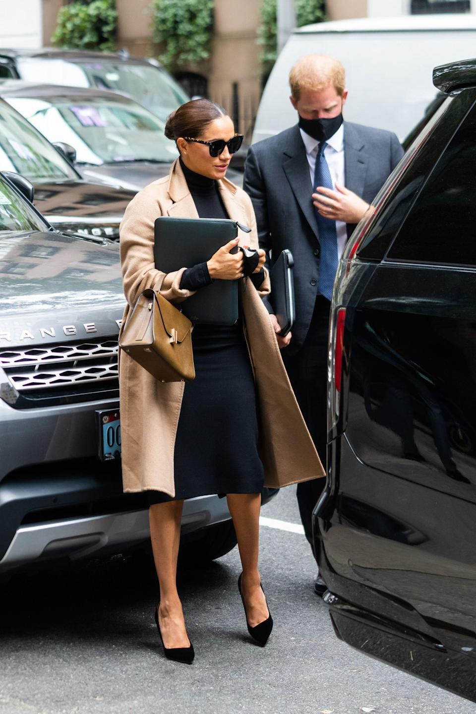 <p>We don't need to tell you that, for women at least, the camel coat will never date. Whereas navy and black are elegant in an understated way, biscuity beige and caramel shades will always spell out luxury. </p><p>From Lauren Bacall's sequin-lined 'Subway' design and Jackie Kennedy's neat-as-a-pin '60s styles, to the sumptuous wrap numbers Marilyn Monroe wore on set, camel coats have been a signifier of chic for as long as we can remember. Since 1908, in fact, when the outerwear was first created (by British brand Jaeger) from actual camel hairs, the rough strands forming a tactile but resilient nap. </p><p>Fast forward to the 21st century, and we've swapped this fabric for softer wool, cashmere and mohair iterations. The key shapes remain the same however. Which means: buy a camel coat now and you'll still be wearing it for years to come. </p><p>The secret to longevity is in a timeless silhouette; so we've narrowed down the only 12 worth investing in. You don't need them all, of course, but keep a few hanging in your wardrobe and you'll be uniformed for every occasion. From classic chesterfield and belted iterations, to on-trend leather styles, here's Bazaar's pick of the best camel coats out there.</p>