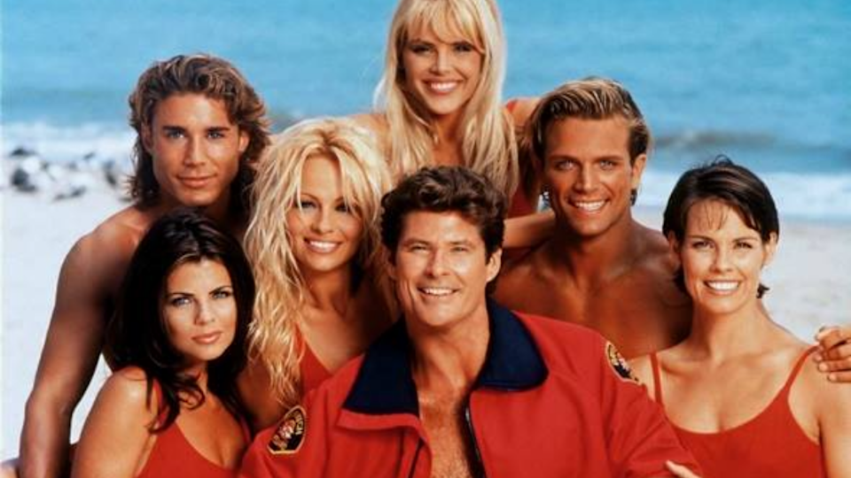 Baywatch isn't all pretty lifeguards and slow-mo running... though that is about 90% of it.