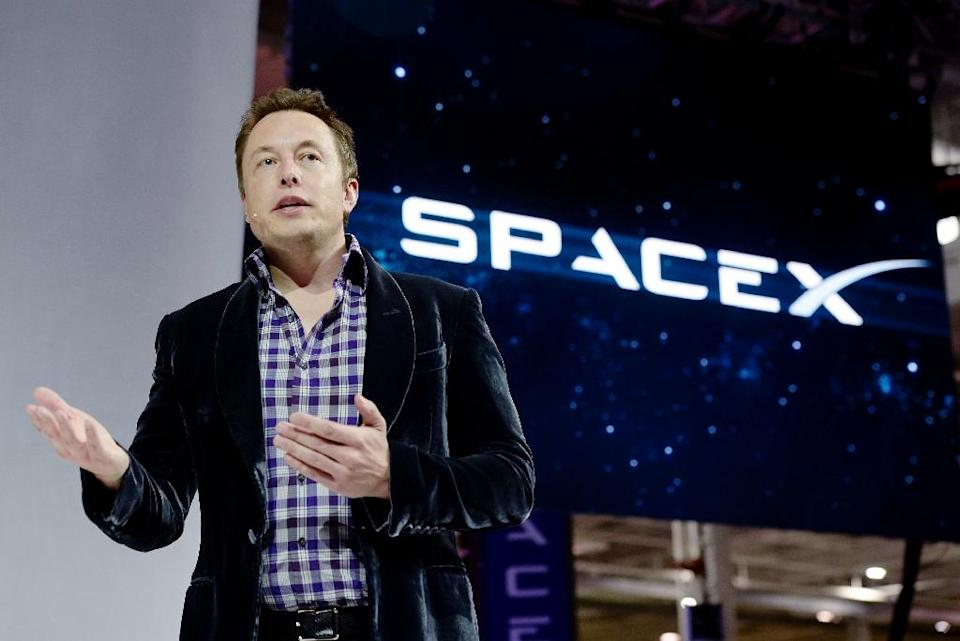 Billionaire Elon Musk's firm SpaceX (Musk pictured) has won long-waited approval from the US Air Force to launch military satellites, opening the way to a lucrative market that has been a virtual monopoly for Boeing and Lockheed Martin joint venture (AFP Photo/Kevork Djansezian)