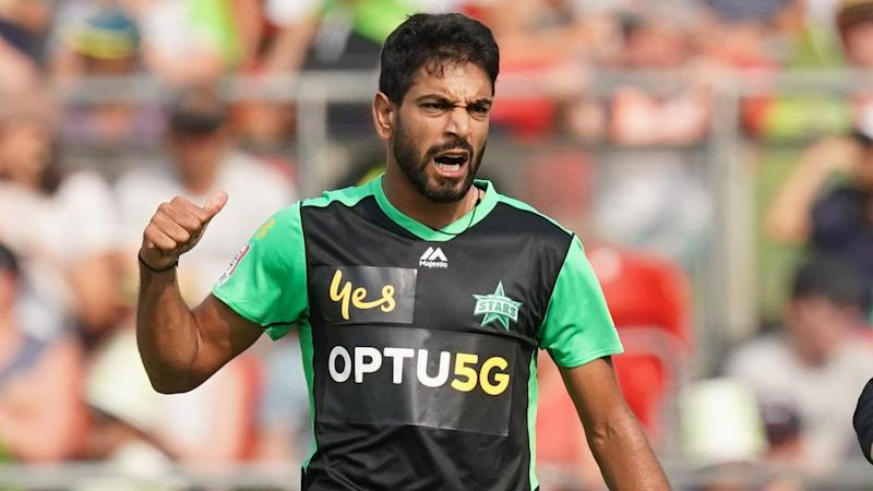 Haris Rauf continues to impress for the Stars, bagging three wickets against the Thunder