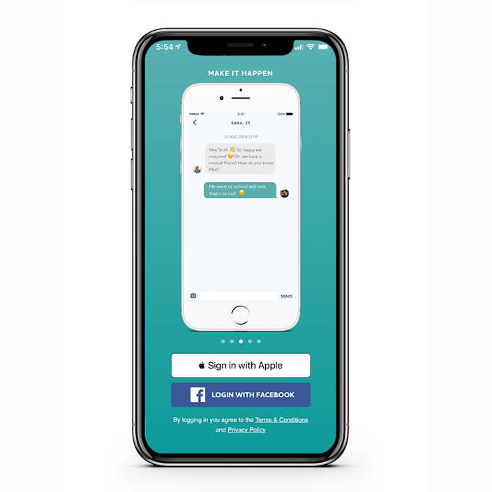 """<p>Using a similar interface to popular app-based sites like Tinder, Crosspaths lets you swipe your way through eligible Christian singles. It has a free chat function and sponsored meet-ups, so you can test the chemistry in person.</p><p><a class=""""link rapid-noclick-resp"""" href=""""https://www.crosspathsapp.com/"""" rel=""""nofollow noopener"""" target=""""_blank"""" data-ylk=""""slk:TRY CROSSPATHS"""">TRY CROSSPATHS</a></p>"""