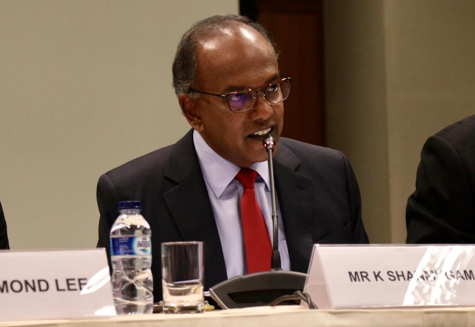 Shanmugam, 59, is the most senior MP in the PAP's CEC after Prime Minister Lee Hsien Loong, who occupies the secretary-general post.