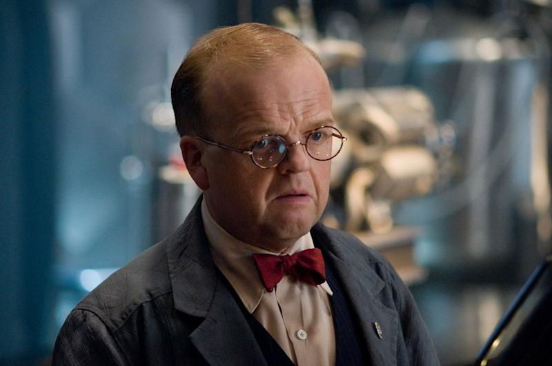 Toby Jones as Arnim Zola in Captain America: The First Avenger (Marvel Studios)