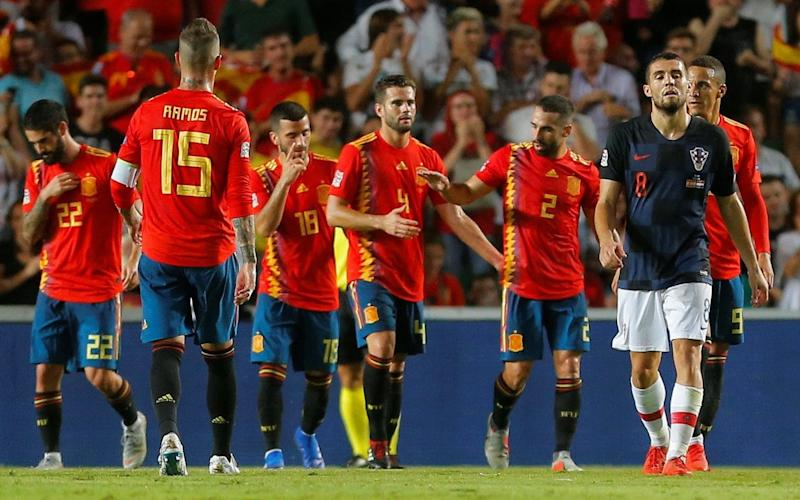Spain appear in rude health following their disappointing summer under new manager Luis Enrique - REUTERS