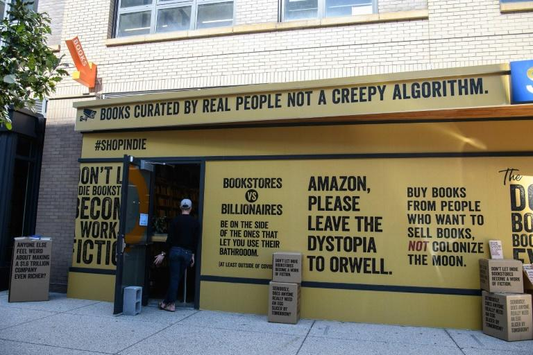 US book stores launch 'Boxed Out' campaign against Amazon