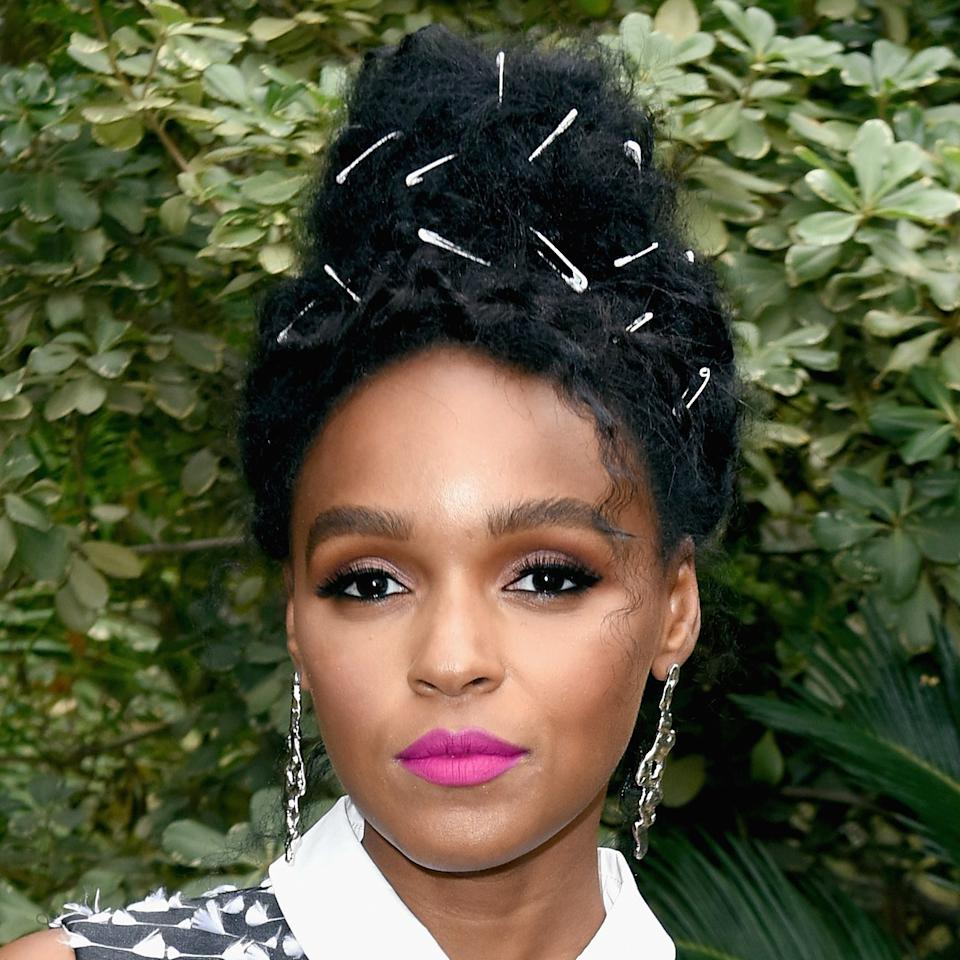 <p>Janelle Monáe and her hairstylist Nikki Nelms are an unstoppable creative force, using everything from googly eyes to safety pins to transform a run-of-the-mill updo into a straight-up work of art.</p>