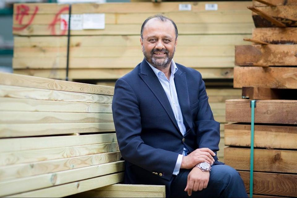 Shanker Patel is the CEO of building supplies group Lords (Daniel Jones Photography)