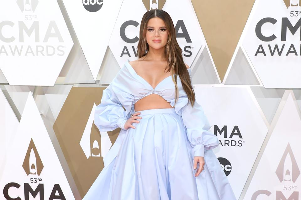 Maren Morris reveals how Chrissy Teigen helped her to deal with postpartum depression. (Photo by Taylor Hill/Getty Images)