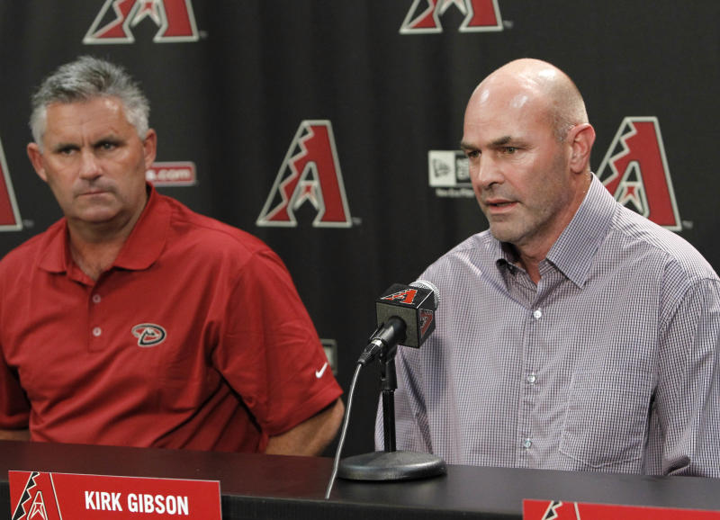 Diamondbacks extend contracts for Gibson, Towers