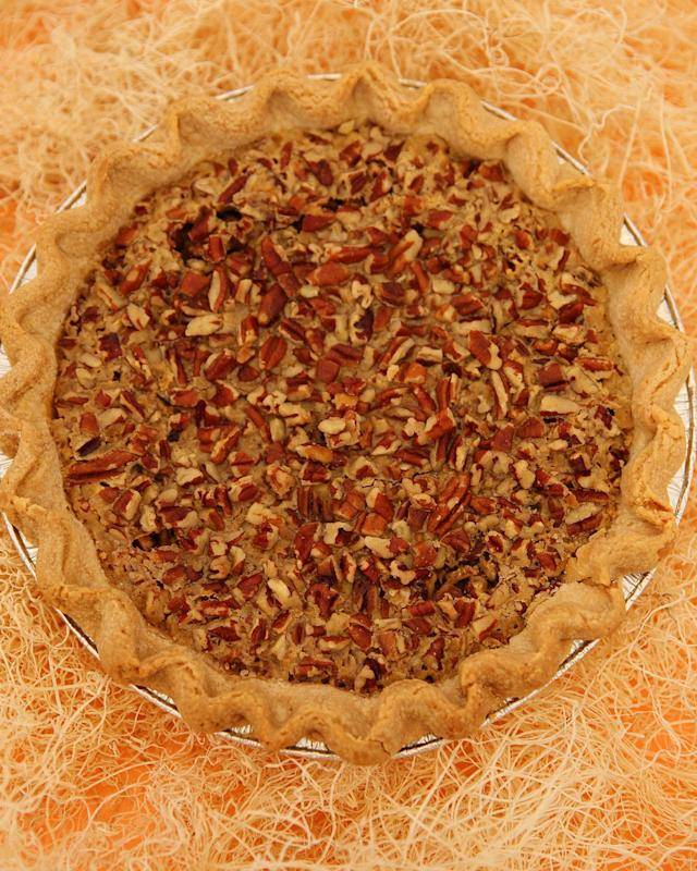 "<p>For millions, Thanksgiving Day is defined by two treats: NFL football and delicious pie. To honor these great fall customs we asked one pie shop from each of the three cities hosting NFL games this Thanksgiving to provide us a sample for a pie-tasting contest. From the Detroit area, <a href=""http://www.achatzpies.com/menu"" rel=""nofollow noopener"" target=""_blank"" data-ylk=""slk:Achatz Handmade Pie Co."" class=""link rapid-noclick-resp"">Achatz Handmade Pie Co.</a> sent its pumpkin praline;<a href=""http://www.livinthepielife.com/"" rel=""nofollow noopener"" target=""_blank"" data-ylk=""slk:Livin' the Pie Life"" class=""link rapid-noclick-resp""> Livin' the Pie Life </a>in Arlington, Va., offered its Southern pumpkin praline; and <a href=""http://emporiumpies.com/"" rel=""nofollow noopener"" target=""_blank"" data-ylk=""slk:Emporium Pies"" class=""link rapid-noclick-resp"">Emporium Pies</a> in Dallas submitted its Drunken Nut (a bourbon pecan). The winner: Heather Sheire's Southern Pumpkin Praline Pie from Livin' the Pie Life. Her confection is well-balanced with a sweet, crunchy topping and a smooth filling. But in the spirit of the holiday, we're in a giving mood, so here are the recipes to all three: </p><h3><strong>Southern Pumpkin Praline Pie</strong></h3><p><em>Our winner! Recipe courtesy of Livin' the Pie Life in Arlington, Virginia</em></p><p>?</p><p><strong>INGREDIENTS</strong></p><p>One unbaked pie shell (store-bought or use recipe provided)</p><p><strong>PRALINE TOPPING</strong></p><p>1/4 cup packed light-brown sugar 1/4 cup granulated sugar 1/4 cup all-purpose flour 1/2 teaspoon ground cinnamon 1/8 teaspoon kosher salt 4 Tablespoons cold unsalted butter, cut into ½-inch cubes 1/2 cup pecans, coarsely chopped</p><p><strong>FILLING</strong></p><p>1 small can (15 oz.) pumpkin puree 3/4 cup light brown sugar, packed 3 large eggs ½ cup heavy cream or whipping cream 1 teaspoon vanilla 2 Tablespoons quality amber or dark rum 1 ½ teaspoons cinnamon ½ teaspoon ginger a small pinch of cloves ½ teaspoon kosher salt</p><p><strong>METHOD</strong></p><p>Preheat the oven to 400 degrees F. Make the praline topping. Place all ingredients in a food processor and process until mixture is the consistency of coarse sand. Refrigerate until ready to use. In a medium bowl, whisk together pumpkin puree, ¾ cup brown sugar and 3 large eggs until smooth. Next, whisk in the cream, vanilla, rum, cinnamon, ginger, cloves and salt. Pour the pumpkin filling into the unbaked pie shell. Sprinkle praline topping over the pumpkin filling. Bake for 15 minutes at 400 degrees F. Then, turn the oven down to 375 degrees F and continue to bake for 35-45 more minutes. The pie is done when the center is puffy and the praline is browned.</p><h3><strong>American Pie Crust</strong></h3><p><em>Recipe courtesy of Livin' the Pie Life in Arlington, Virginia</em></p><p><em>If you want to make your own crust, this recipe is easy and delicious. </em></p><p><strong>CRUST INGREDIENTS</strong></p><p>1 ¼ cups all-purpose flour ½ teaspoon kosher salt 6 Tablespoons cold unsalted butter, cut into 1/2-cubes 4 Tablespoons shortening (like Crisco), cut into 1/2-inch pieces 4-5 Tablespoons ice water, approximately</p><p><strong>CRUST METHOD</strong></p><p>Place flour and salt in a food processor and process for two seconds to incorporate. Add butter and shortening. Process in 1-second intervals until the largest pieces of butter are the size of peas. Add 2 Tablespoons of ice cold water and pulse 3 times. Add additional water, one Tablespoons at a time and continue to pulse until the dough looks like wet sand and holds together when you pinch it between your fingers. Turn the dough onto a floured counter and form together into a ball. Wrap the ball tightly in plastic wrap and refrigerate for at least one hour or up to 2 days. Roll, place in pan, crimp the edge and use.</p><h3><strong>Drunken Nut</strong></h3><p>Bourbon pecan pie that is made with a base of a melted butter & sugar in place of the traditional corn syrup.</p><p><em>Recipe courtesy of Emporium Pies, Dallas</em></p><p>?</p><p><strong>Ingredients:</strong></p><p>¼ cup (1 stick) unsalted butter</p><p>1 ¼ cup light brown sugar</p><p>½ cup sugar</p><p>1 Tbsp all purpose flour</p><p>? tsp salt</p><p>2 eggs</p><p>1 egg yolk</p><p>2 Tbsp bourbon</p><p>1 ½ cups pecans halves, roughly chopped</p><p>½ cup semisweet chocolate chips (optional) </p><p><strong>Directions:</strong></p><p>1. Preheat oven to 425 degrees</p><p>2. Melt butter in a medium saucepan. Turn off heat and set aside.</p><p>3. Mix Sugars, Flour and Salt into butter and sitr all ingredients over low heat until mixture begins to bubble and loosen.</p><p>4. Remove pan from heat. Transfer mixture into a bowl and allow to cool to room temperature.</p><p>5. Once sugar mixture is cool, mix in eggs, yolks and whiskey.</p><p>6. Pour filling into a chilled pie shell and sprinkle with chocolate chips (if desired). Cover pie evenly with pecans.</p><p>7. Allow pie to chill for 15 minutes</p><p>8. Bake at 425 for 8 minutes</p><p>9. Reduce temperature to 325 and bake for 1 hr or until pie is domed and only moves slightly when shaken</p><h3><strong>Pate Sucree:</strong></h3><p><em>Sweet, crumbly pie crust that is reminiscent of a shortbread cookie</em></p><p><strong>Ingredients:</strong></p><p>? cup powdered sugar</p><p>¾ cup (1 ½ sticks) unsalted butter, chilled and</p><p> cut into pieces</p><p>1 egg</p><p>1 egg yolk</p><p>1 ¾ cups all purpose flour</p><p>½ tsp Salt</p><p><strong>Directions:</strong></p><p>1. Cream the butter and sugar together in a bowl until well combined, then beat in the egg and egg yolk, one at a time until fully incorporated into the mixture.</p><p>2. Mix in the flour and salt until the mixture comes together as a ball of dough.</p><p>3. Turn the pastry out onto a floured work surface and form into a circular disk.</p><p>4. Wrap the pastry in plastic and chill for at least an hour before rolling out. </p><h3><strong>Pumpkin Praline Pie Recipe</strong></h3><p><em>Recipe courtesy of Achatz Handmade Pie Co., Chesterfield, Mich.</em></p><p>??</p><p>Pre-heat oven to 375 degrees</p><p><strong>Pie dough</strong>: Makes top crust for one 9 or 10 inch pie. (You may have extra)</p><p><strong>Mix</strong></p><p>2 ½ cup pastry flour, unbleached</p><p>1 teaspoon sugar</p><p>1 teaspoon sea salt</p><p><strong>Then Add:</strong></p><p>1 cup trans-fat free shortening</p><p>Or you can use ½ cup butter and a ½ cup trans-fat free shortening</p><p>Cut room temperature shortening into flour with fingers until crumbly, yet not too blended.</p><p><strong>Add:</strong></p><p>½ cup chilled water.</p><p>Do not over mix at this point. Dough will be sticky. Cover with plastic wrap or wax paper and allow chill in refrigerator for 1 hour.</p><p><strong>Cheesecake Filling:</strong></p><p>1-8 oz. package cream cheese</p><p>½ cup sugar</p><p>1-teaspoon vanilla</p><p>1 whole egg</p><p>Beat all ingredients until well blended.</p><p><strong>Pecan Praline Topping:</strong></p><p>1/2 cup all-purpose flour 1/2 cup chopped pecans 1/4 cup packed brown sugar 3 tablespoons softened butter</p><p>In a medium bowl, combine all ingredients</p><p><strong>Pumpkin Filling:</strong></p><p>1 16 - ounce can pumpkin 2/3 cup sugar 2 teaspoons pumpkin pie spice 3 eggs 1 5 - ounce can evaporated milk (2/3 cup) 1/2 cup milk</p><p>In a bowl, combine pumpkin, sugar, and pumpkin pie spice. Add eggs and beat lightly. Gradually beat in evaporated milk and milk.</p><p>Remove chilled dough from refrigerator place in bottom of 9 or 10 inch pie tin.</p><p>Spread cheesecake mixture into pie shell, then add pumpkin filling. Sprinkle Pumpkin Praline on top.</p><p>Bake for 15 minutes at 375, then lower temp to 350 for one hour.</p>"