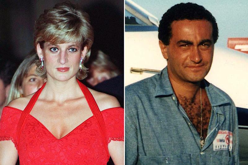 Princess Diana and Dodi Al-Fayed