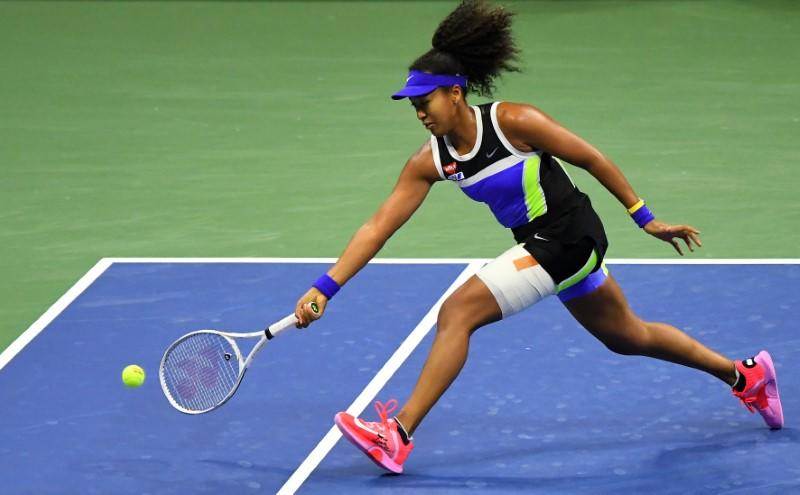 Osaka beats Rogers to reach U.S. Open semis