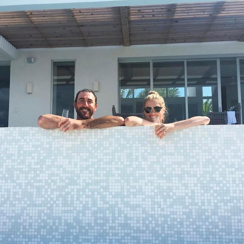 """<p>Champagne and an infinity pool? Sign us up! """"When the 4th starts on the 3rd,"""" the model bragged, er, we mean posted. (Photo: <a rel=""""nofollow noopener"""" href=""""https://www.instagram.com/p/BWFna_DDJwt/?taken-by=kateupton"""" target=""""_blank"""" data-ylk=""""slk:Kate Upton via Instagram"""" class=""""link rapid-noclick-resp"""">Kate Upton via Instagram</a>)<br><br></p>"""