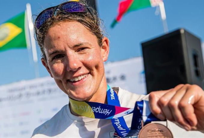 Olympic sailor Alison Young