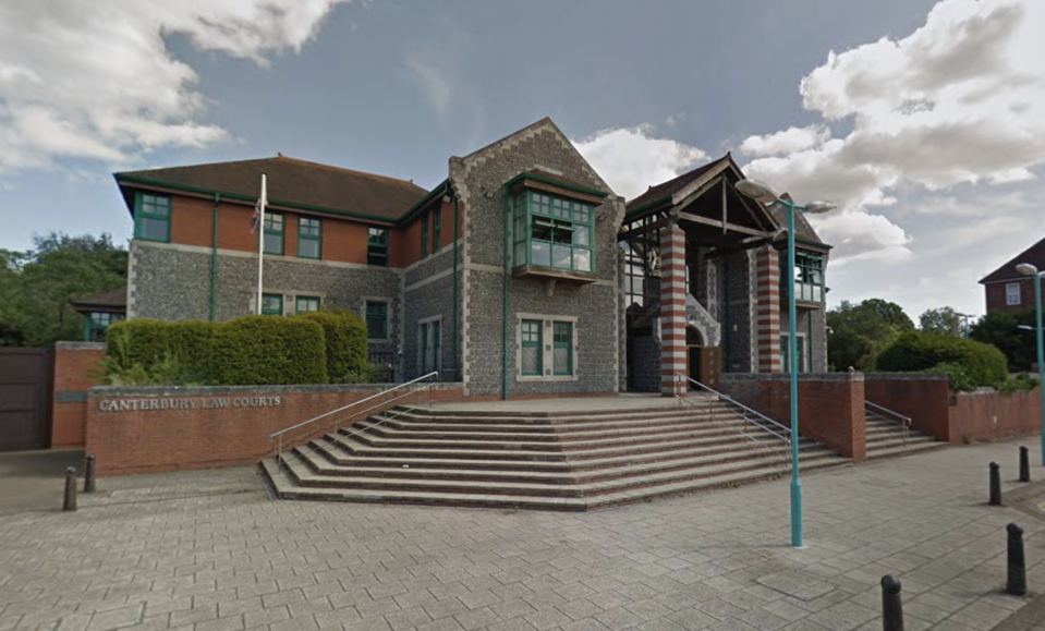 Elkabbass denies the charges at Canterbury Crown Court. (Google Maps)