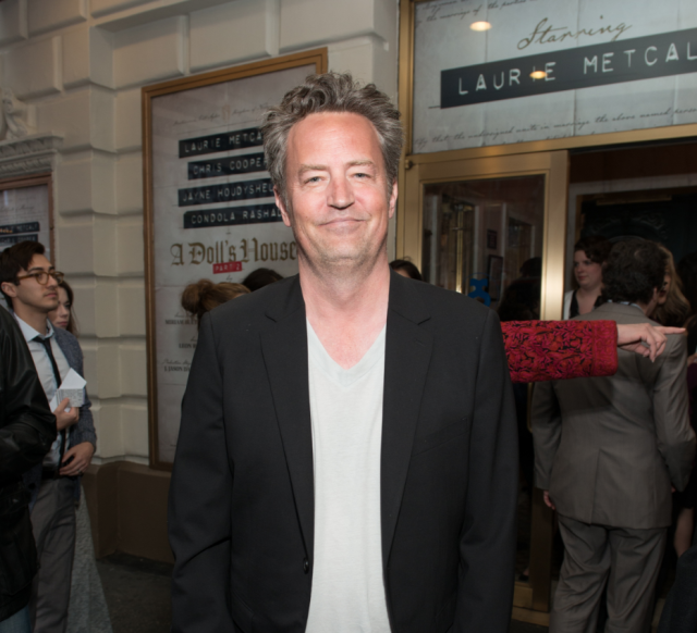 Matthew Perry was hospitalized for a gastrointestinal perforation this week. Here's what that means. (Getty Images).