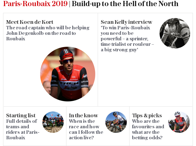 Paris-Roubaix 2018 | Build-up to the Hell of the North