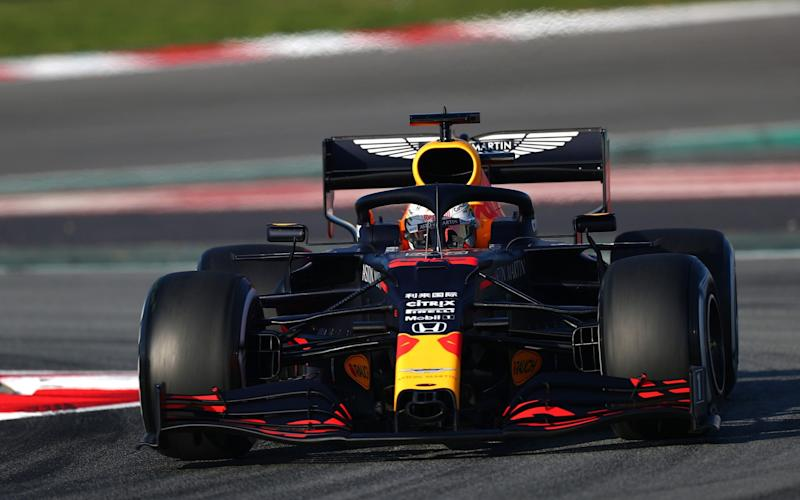 The Red Bull RB16 -  Dan Istitene - Formula 1