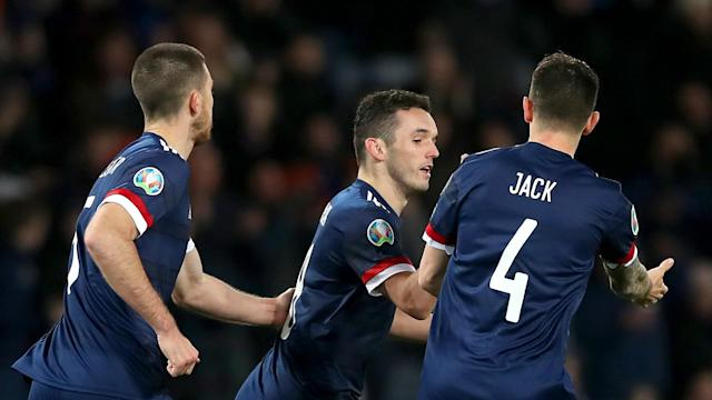 The Euro 2020 play-off draw took place on Friday, with Scotland to face Israel at Hampden Park in March's semi-finals.