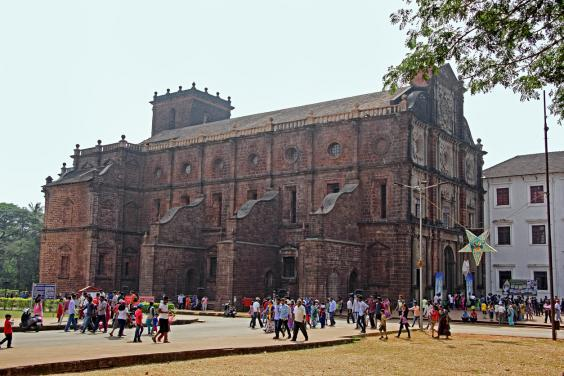 The church of Bom Jesus in Old Goa (Getty)