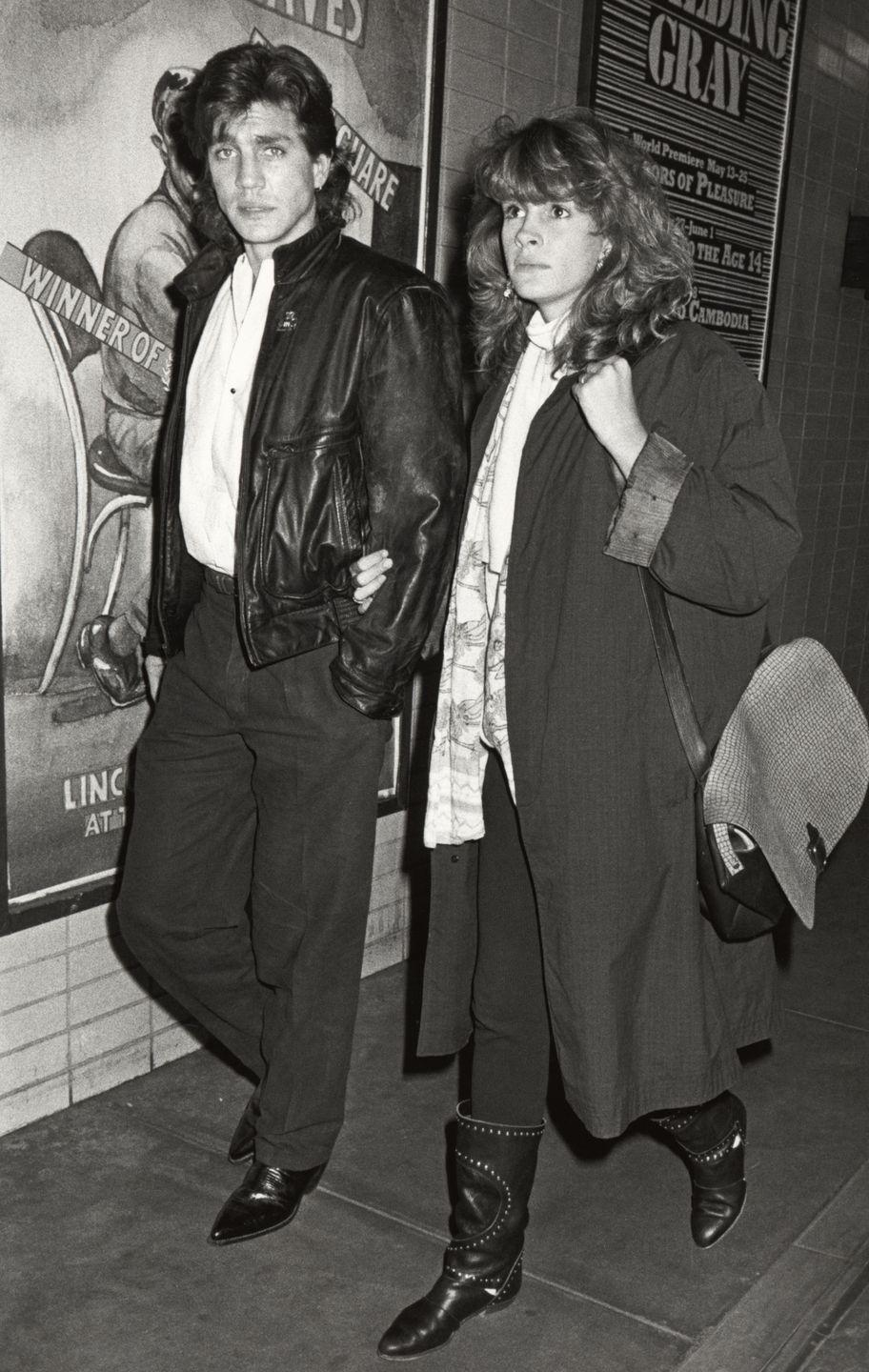 <p>Before Julia Roberts was, well, Julia Roberts, she was introduced to Hollywood by her older brother, Eric Roberts. There's no mistaking the resemblance, as they both share the same lips and famous smile. </p>