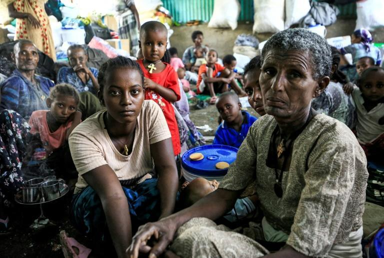 Ethiopians from the Qemant ethnic group have fled to neighbouring Sudan after violence in the Tigray region spilled over into their homeland