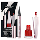 """A great liquid liner and red lip that will withstand a mask are enough to get any beauty fan excited, especially when they come from miss Fenty herself. $24, Sephora. <a href=""""https://www.sephora.com/product/fenty-beauty-rihanna-lil-fly-stunna-mini-eye-lip-set-P460424"""" rel=""""nofollow noopener"""" target=""""_blank"""" data-ylk=""""slk:Get it now!"""" class=""""link rapid-noclick-resp"""">Get it now!</a>"""