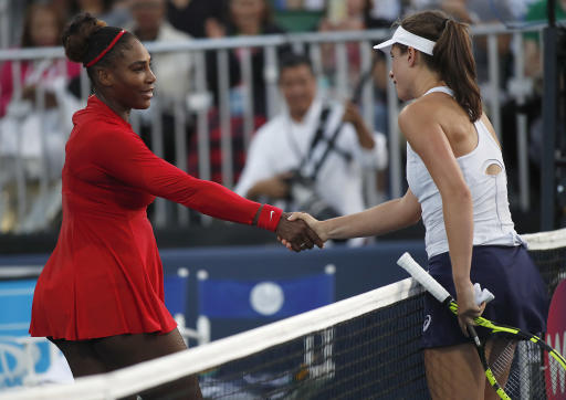 Johanna Konta inflicts worst defeat of Serena Williams' career
