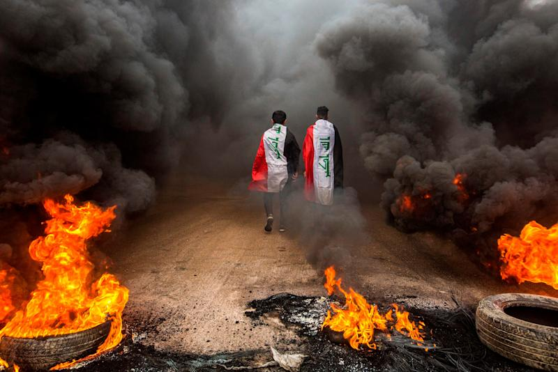(Photo: HUSSEIN FALEH via Getty Images)