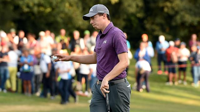 Four birdies in the last six holes of his third round moved Matt Fitzpatrick back to the top of the leaderboard at the Italian Open.