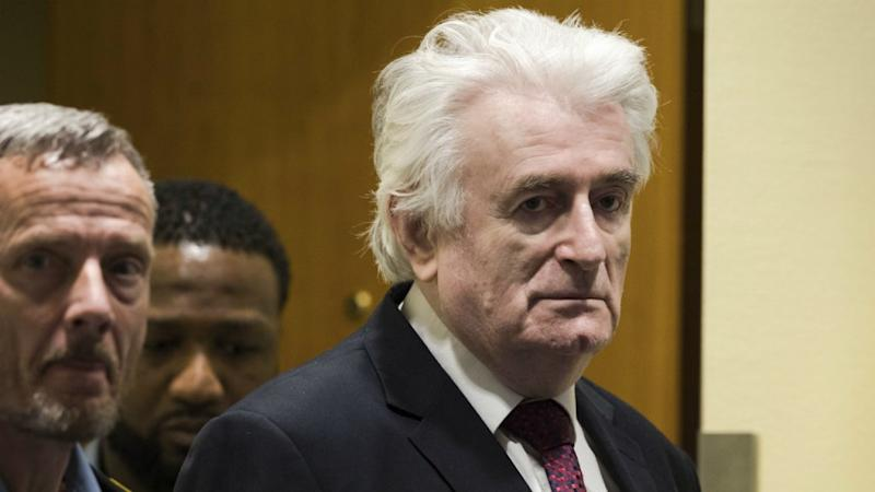 UN judges increase ex-Serb leader Karadzic's sentence to life in prison for Bosnian genocide