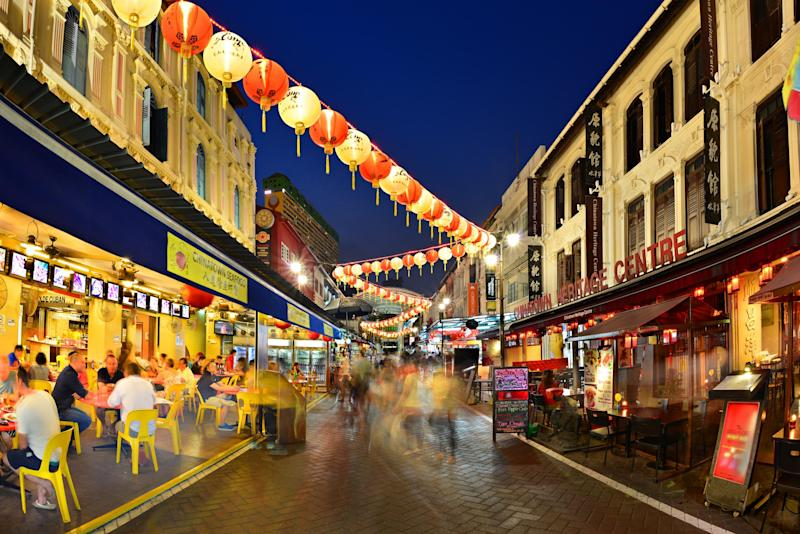China town in Singapore: Singapore Tourism Board