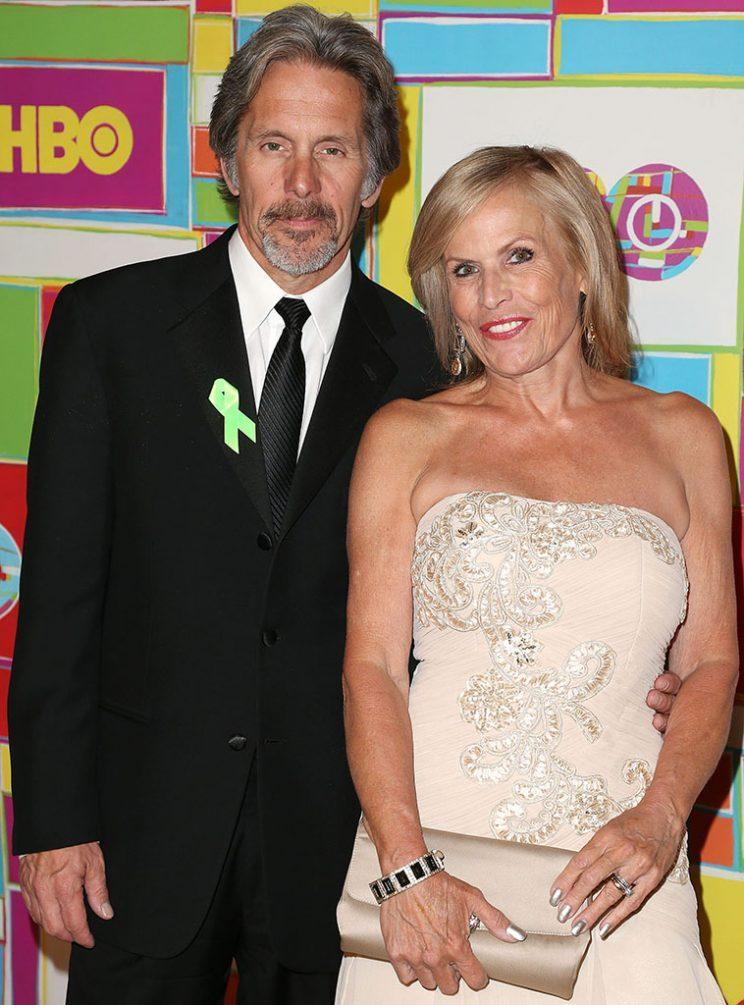 Gary Cole and wife Teddi Siddall attend an Emmys afterparty in August 2016. (Photo: Frederick M. Brown/Getty Images)