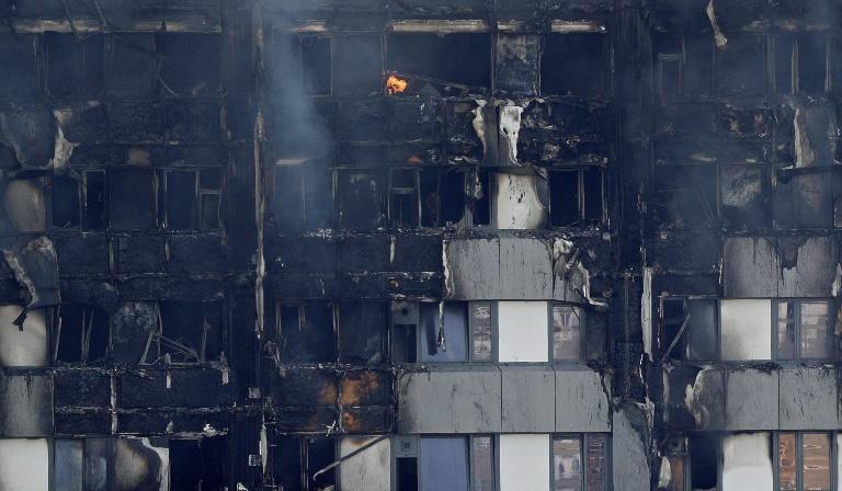 GB/Incendie de la tour Grenfell: May s'