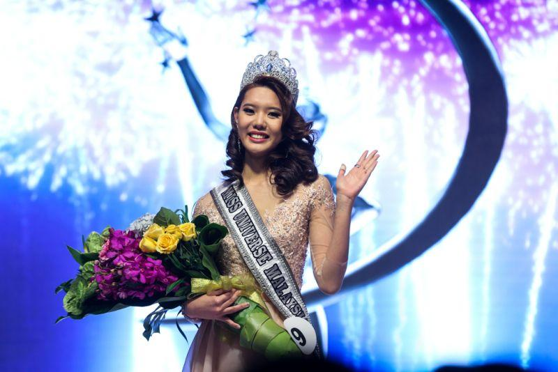 Business student Jane Teoh takes Miss Universe Malaysia crown