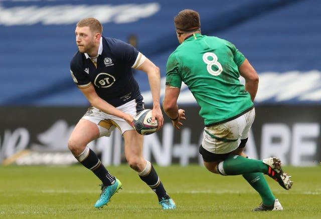 Finn Russell suffered a concussion against Ireland last week